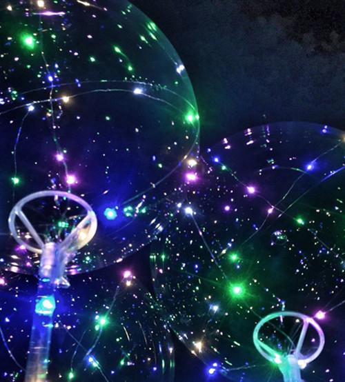 Воздушные шары BOBO BALLOONS Круглый Round с палочкой, полный комплект