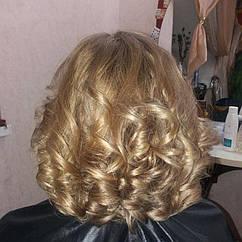 Укладка Женская Нарядная Вечерняя на Волосы Средней Длины от Алёны Нечай