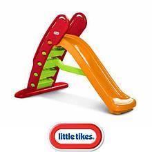 Детская складная горка  Little Tikes 172472 180 см оранжевая