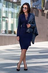 Платье вязка со шнуровкой  - Рианна