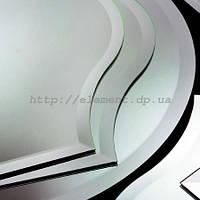 Обработка стекла фацет: криволинейный торец 10-60 мм