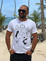 Мужская стильная футболка ««$»»