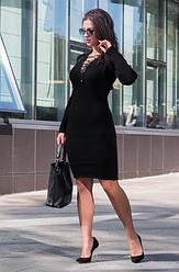 Платье шнуровка на груди - Рианна