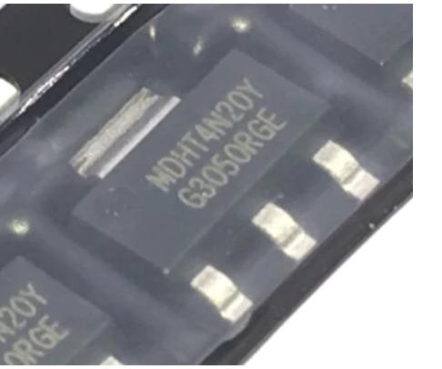 Транзистор  MDHT4N20Y N-канальный 200V 0.85A SOT-223, фото 2