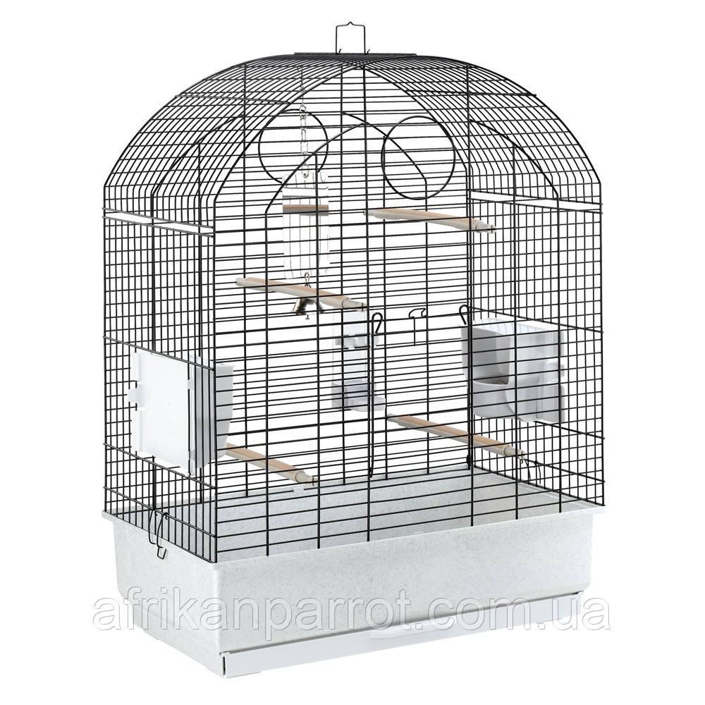 Ferplast Viola. Клетка для средних попугаев  и птиц  с подставкой 59 х 33 х 80см