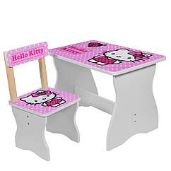 Детский столик со стульчиком Hello Kitty, 504-16