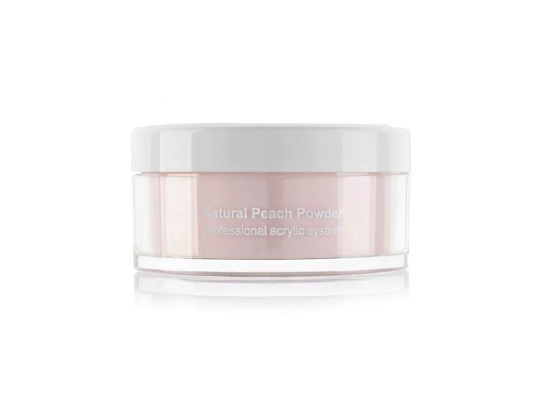 Натуральный персик прозрачная акриловая пудра Natural Peach Powder 22 гр