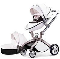 Универсальная коляска 2 в 1 Hot Mom Белая, КОД: 125509