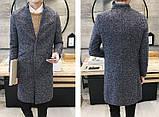 Мужское легкое вязаное пальто, фото 4