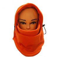 Теплая флисовая балаклава, шапка, шарф