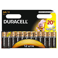 Батарейки Duracell AA(LR06) MN1500*12шт