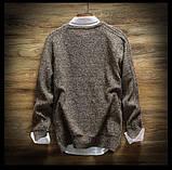 Дешевый мужской теплый свитер, фото 2