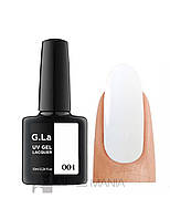Гель лак G.La color UV GEL LACQUER 001