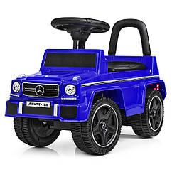 Толокар-каталка музыкальная Mercedes JQ 663-4 синий