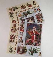 Фрагменты декупажной карты «Дед Мороз»_4, фото 1