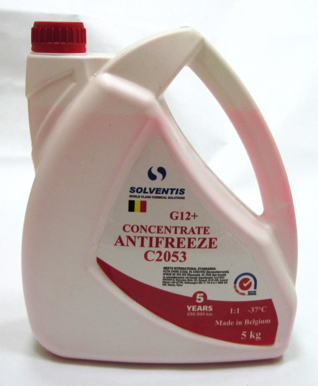Антифриз красный G12+ C2053 (5 кг)