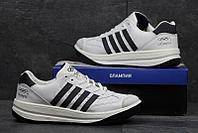 Мужские кроссовки Московский Адидас Олимпия кожаные старая модель, качественая обувь Olympia Иран Adidas белые