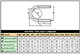 DIN 3570 : нержавеющий болт (хомут) U-образный, фото 3