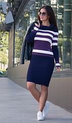 Длинные вязанные платья - Памела