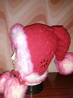 Детские зимние шапки для девочек