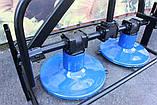 Косилка для мототрактора, GS-01, фото 9