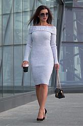 Женское вязанное платье - Ксюша