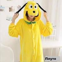 Кигуруми яркое желтая собака Плуто