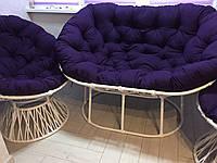 """Диван  """"Мамасан"""" з техноротангу, садові меблі, меблі з ротангу, диван для отдыха"""
