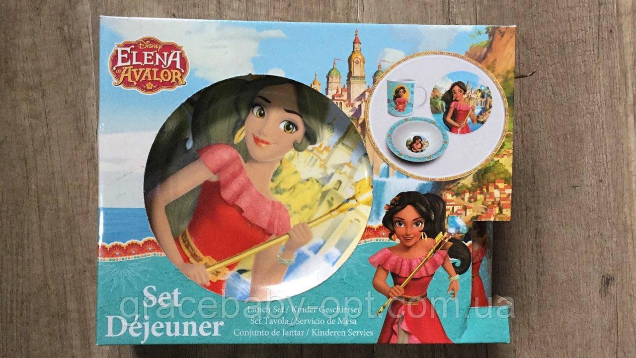 Комплект детской посуди оптом, Disney,  № ELA102629