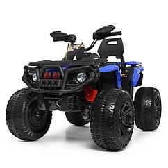 Детский квадроцикл на мягких EVA колесах, M 3631 EBR-4 синий