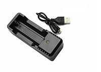 Зарядное Kingwei USB  18650 на 1 слот