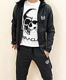 Мужской утепленный спортивный  костюм  Miracle олимпийка штаны, фото 2