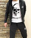 Мужской утепленный спортивный  костюм  Miracle олимпийка штаны, фото 4