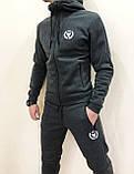 Мужской утепленный спортивный  костюм  Miracle олимпийка штаны, фото 5