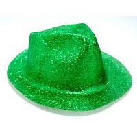 Карнавальні капелюхи (підліткові) Вечірка Блискітки Зелений