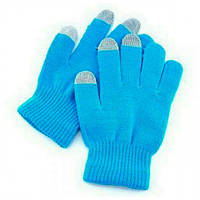 Перчатки для сенсорных телефонов Blue