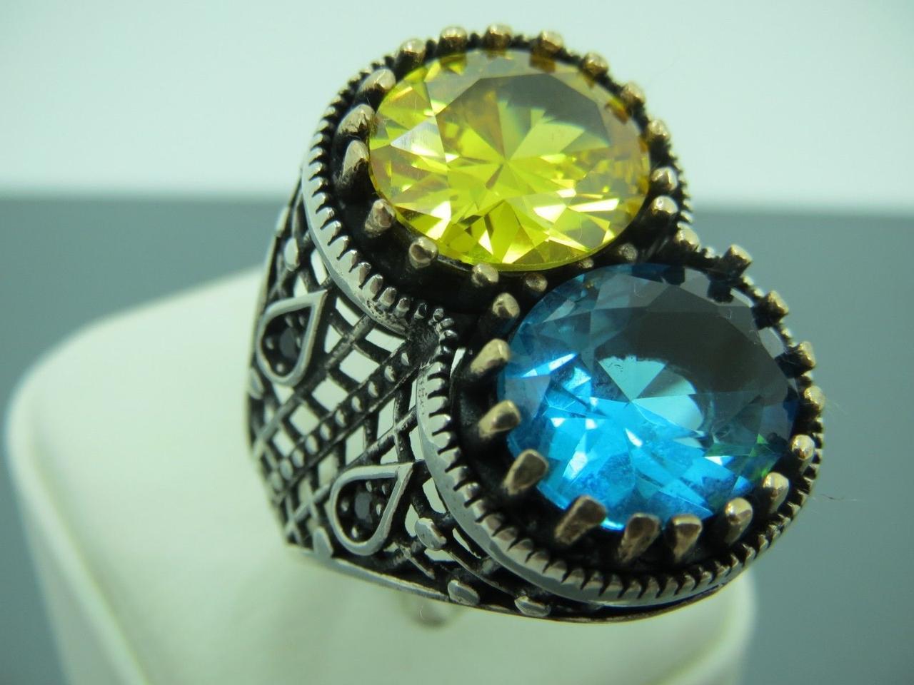 163869dcc68e Серебряное кольцо с бронзой