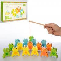 Деревянная игрушка Рыбалка на магнитах Fun Toys MD 2034