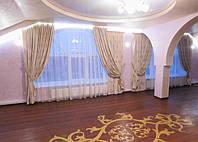 шторы в гостиой