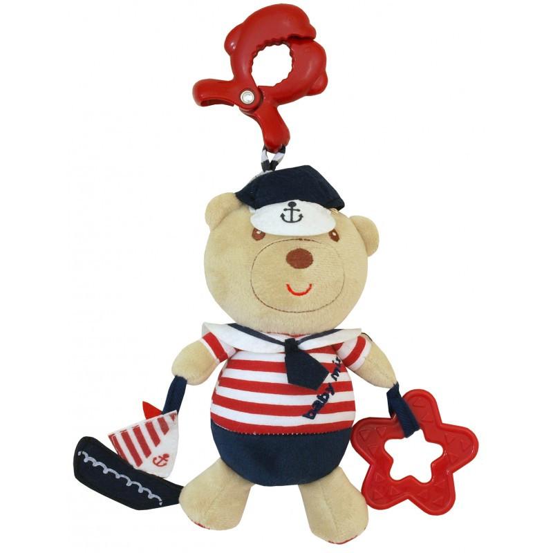 "Плюшевая игрушка Baby Mix ""Мишка моряк"" E/2552-DA00"