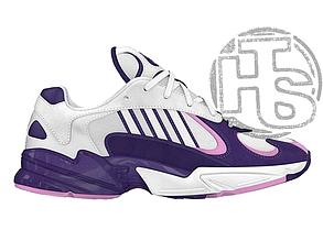 Женские кроссовки Adidas Yung-1 Frieza White/Purple D97048