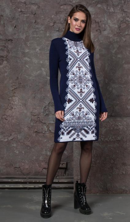 Женское платье вязка - Ольга