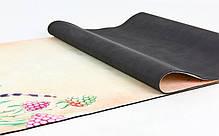 Килимок для йоги замшевий FI-5662-39, фото 2
