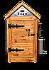 Деревянная коптильня холодного и горячего копчения, вяления и сушки Смакуй Биг 2.0 (750х750х1500 мм)