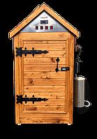 Деревянная коптильня холодного и горячего копчения, вяления и сушки Смакуй Биг 2.0 (750х750х1500 мм), фото 1