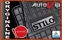 Резиновые коврики FIAT STILO 01-08  с логотипом