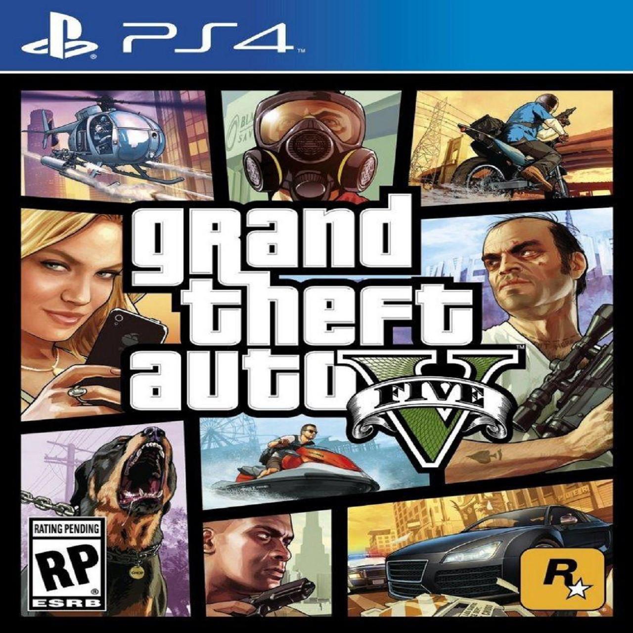 GTA V (английская версия) PS4 (Б/У)
