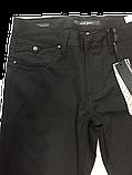 Женские джинсы OMAT 9829 клеш черные, фото 2