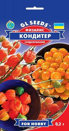Физалис Кондитер, пакет 0.2 г - Семена зелени и пряностей, фото 2