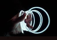 Холодный неон — электролюминисцетный провод III -го поколения 5.0 мм, белый
